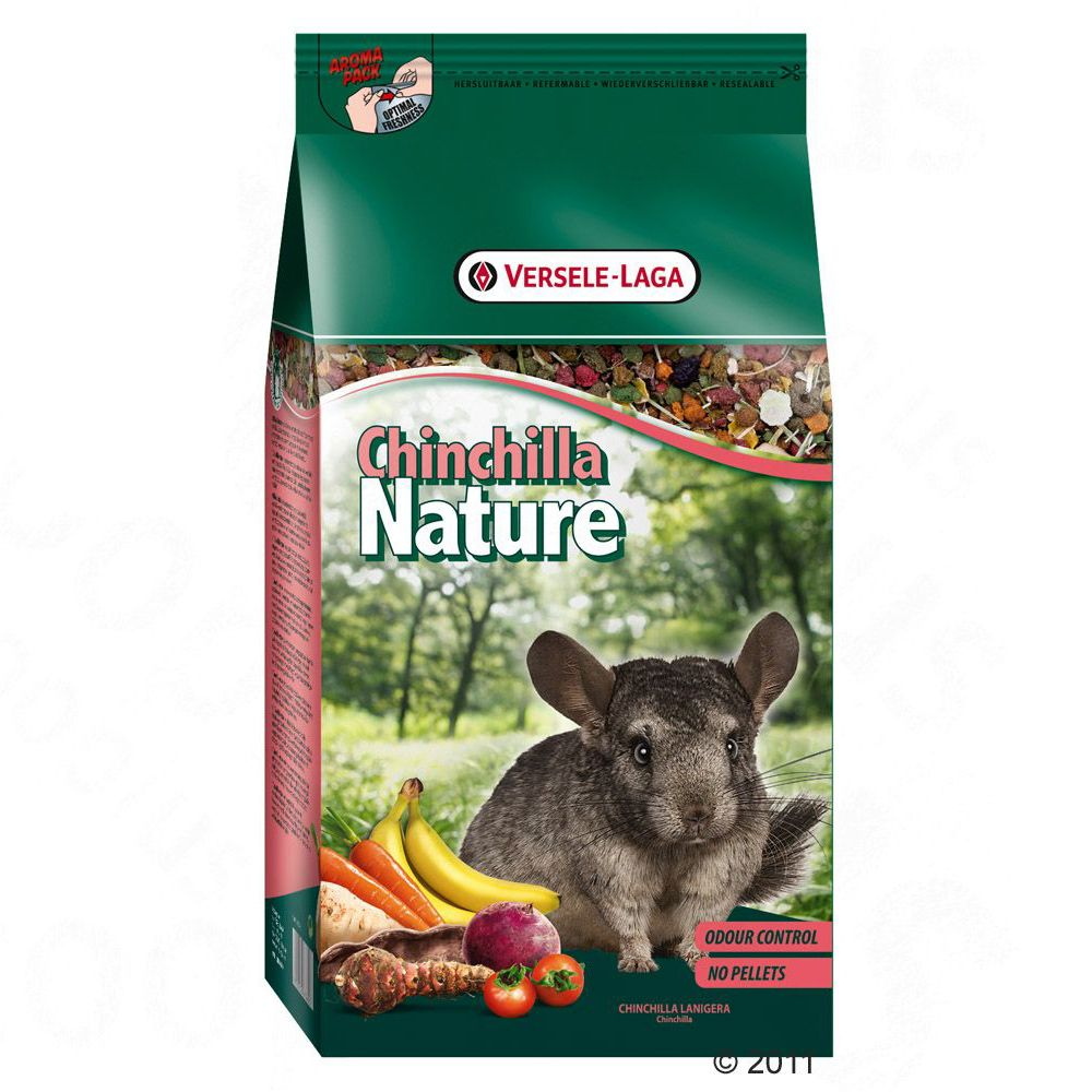 Versele Laga Chinchilla Nature dla szynszyli - 2 x 2,5 kg