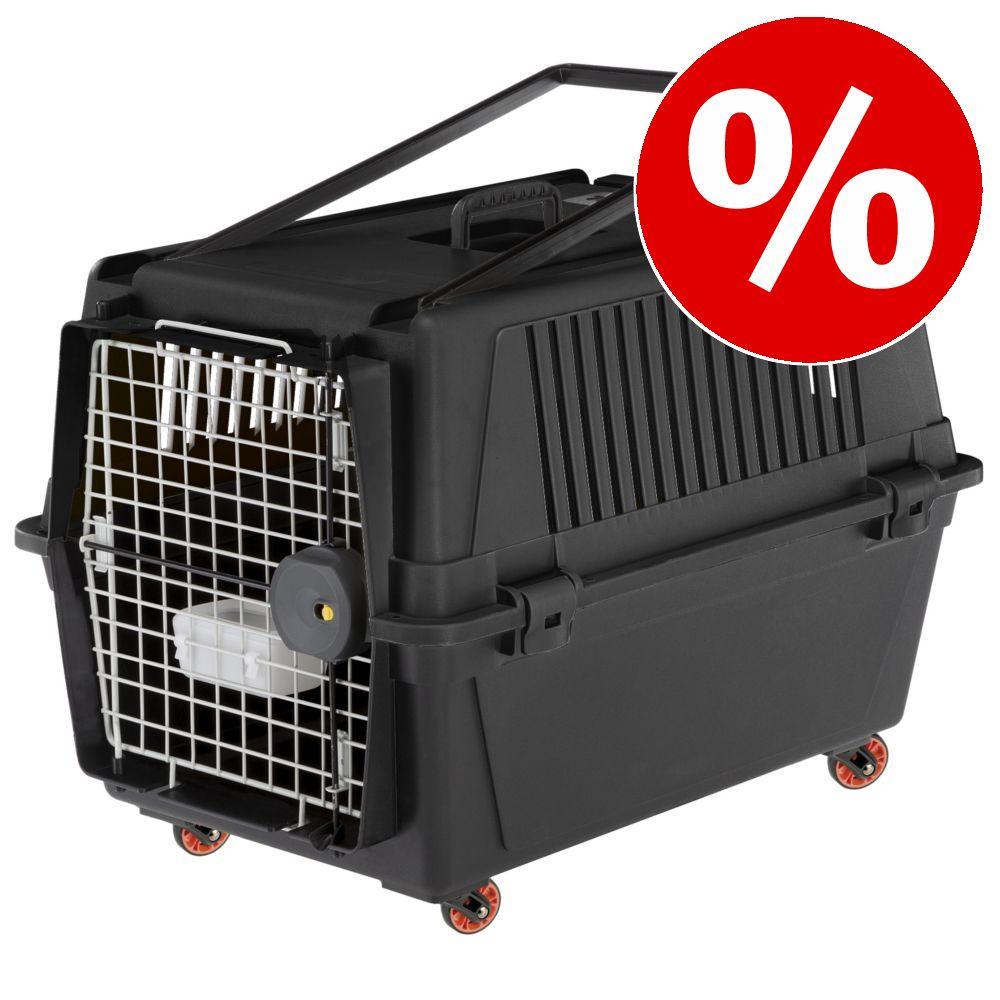 Ferplast Transportbox Atlas Professional mit Rollen zum Sonderpreis! - Größe 40: B 49 x T 68 x H 45,5 cm