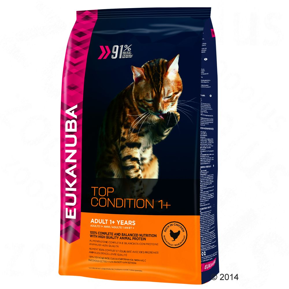 Eukanuba Top Condition 1+ Adult pour chat - 4 kg
