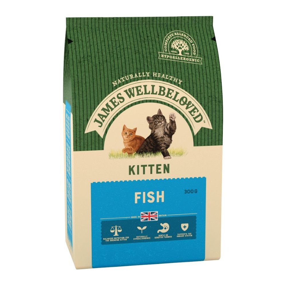 Fish Kitten Food James Wellbeloved