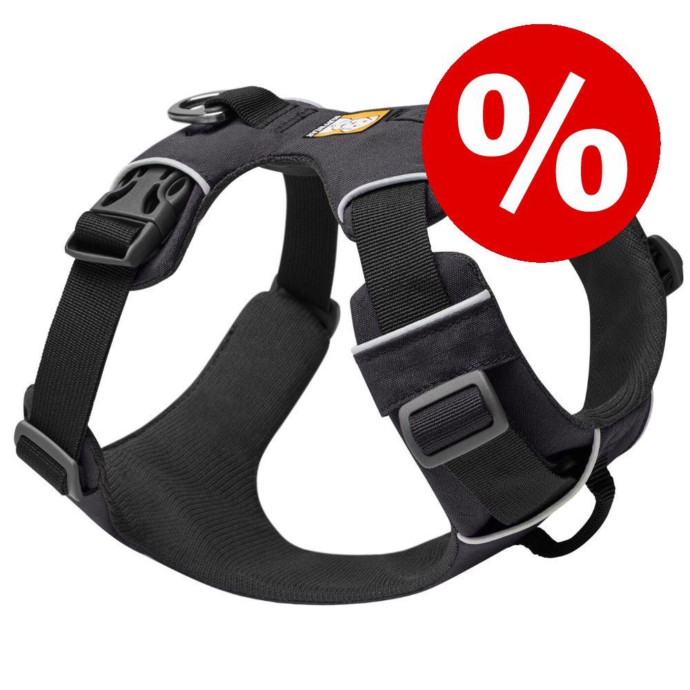 Ruffwear Hundegeschirr Front Range Harness zum Sonderpreis! - Größe M: 69 - 81 cm Brustumfang, B 24 mm, grau