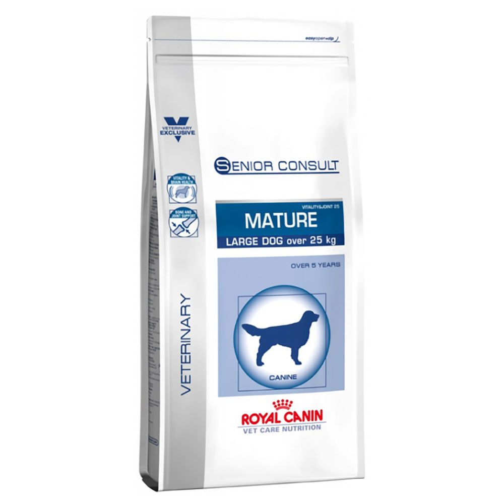 Royal Canin Vet Care Nutrition Dog – Senior Consult Mature Large Breed - Economy Pack: 2 x 14kg