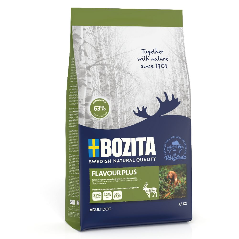 2x12kg Flavour Plus Naturals Bozita Dry Dog Food