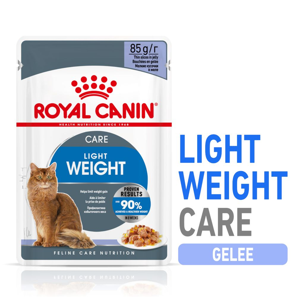 Royal Canin Light Weight Care i gelé 24 x 85 g