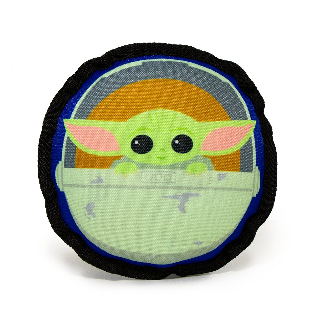 Star Wars Baby Yoda hundleksak - Ø 16 x H 6 cm