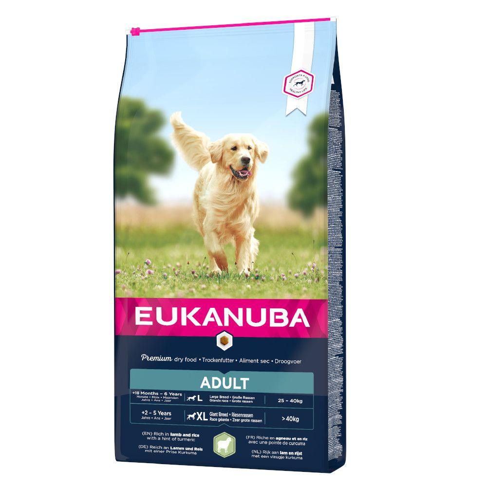 Eukanuba Adult Large Breed Lamb & Rice - säästöpakkaus: 2 x 12 kg