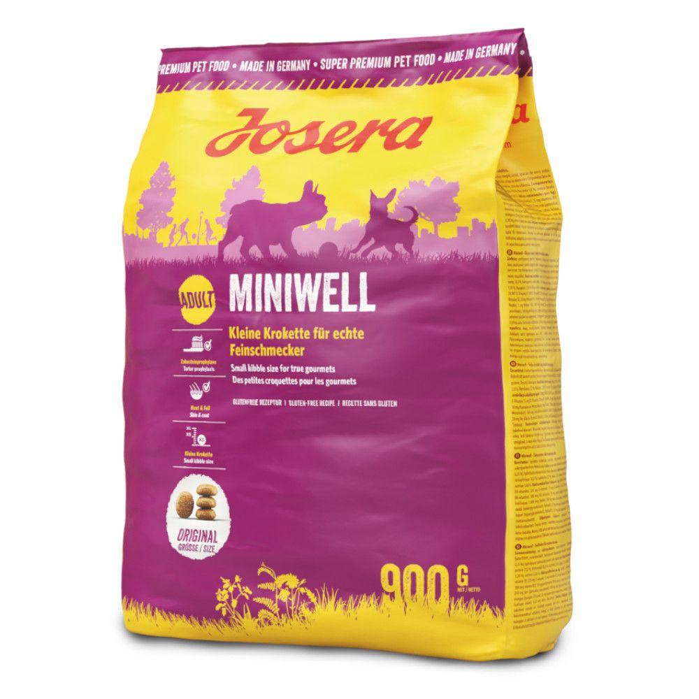 900g Miniwell Josera Hundefoder
