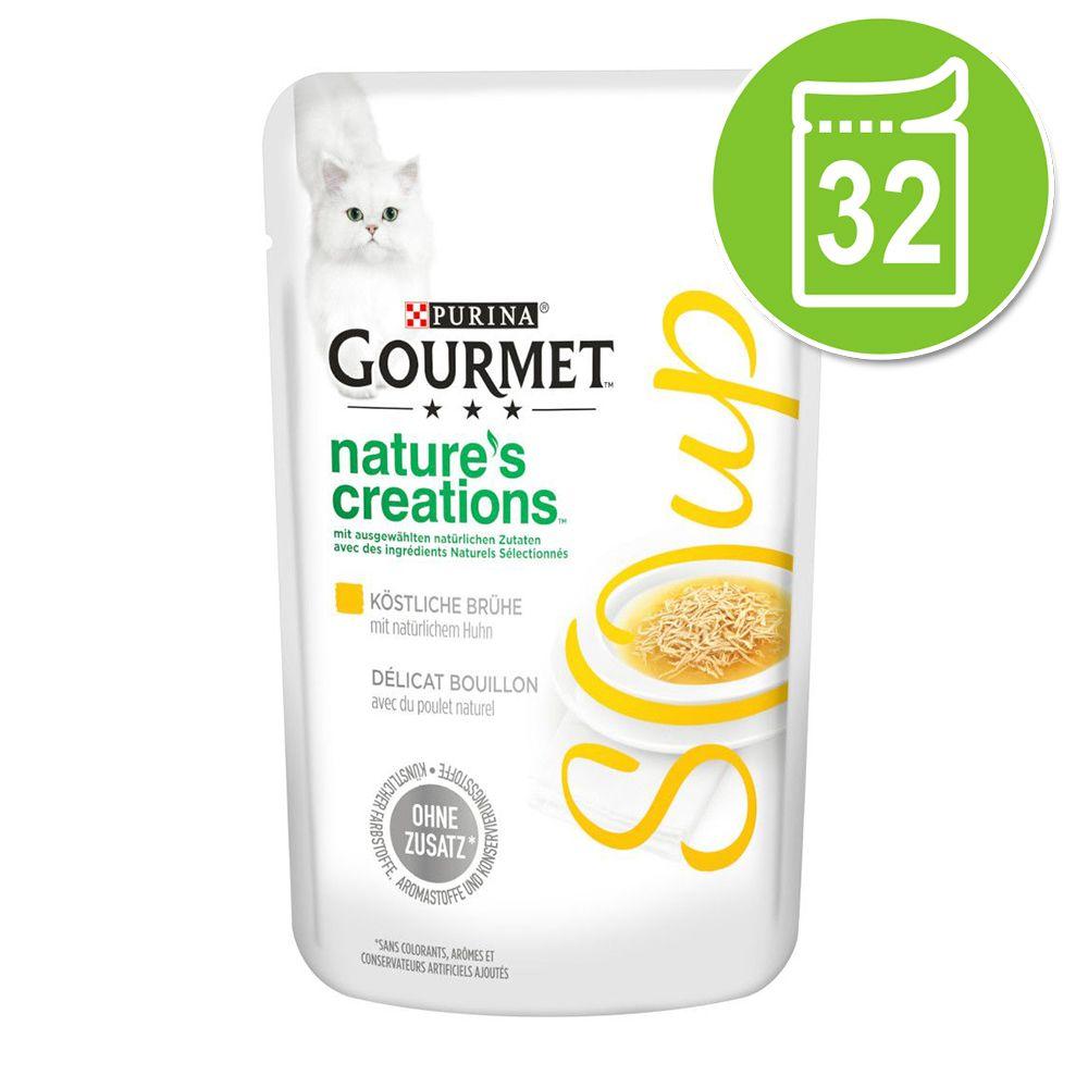 Ekonomipack: Gourmet Soup 32 x 40 g Kyckling & grönsaker