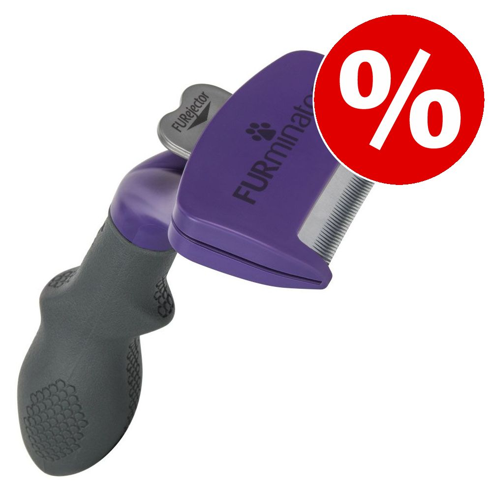 20 % rabatt på FURminator deShedding Tool för katt! - Liten katt / pälslängd upp till 5 cm NY DESIGN