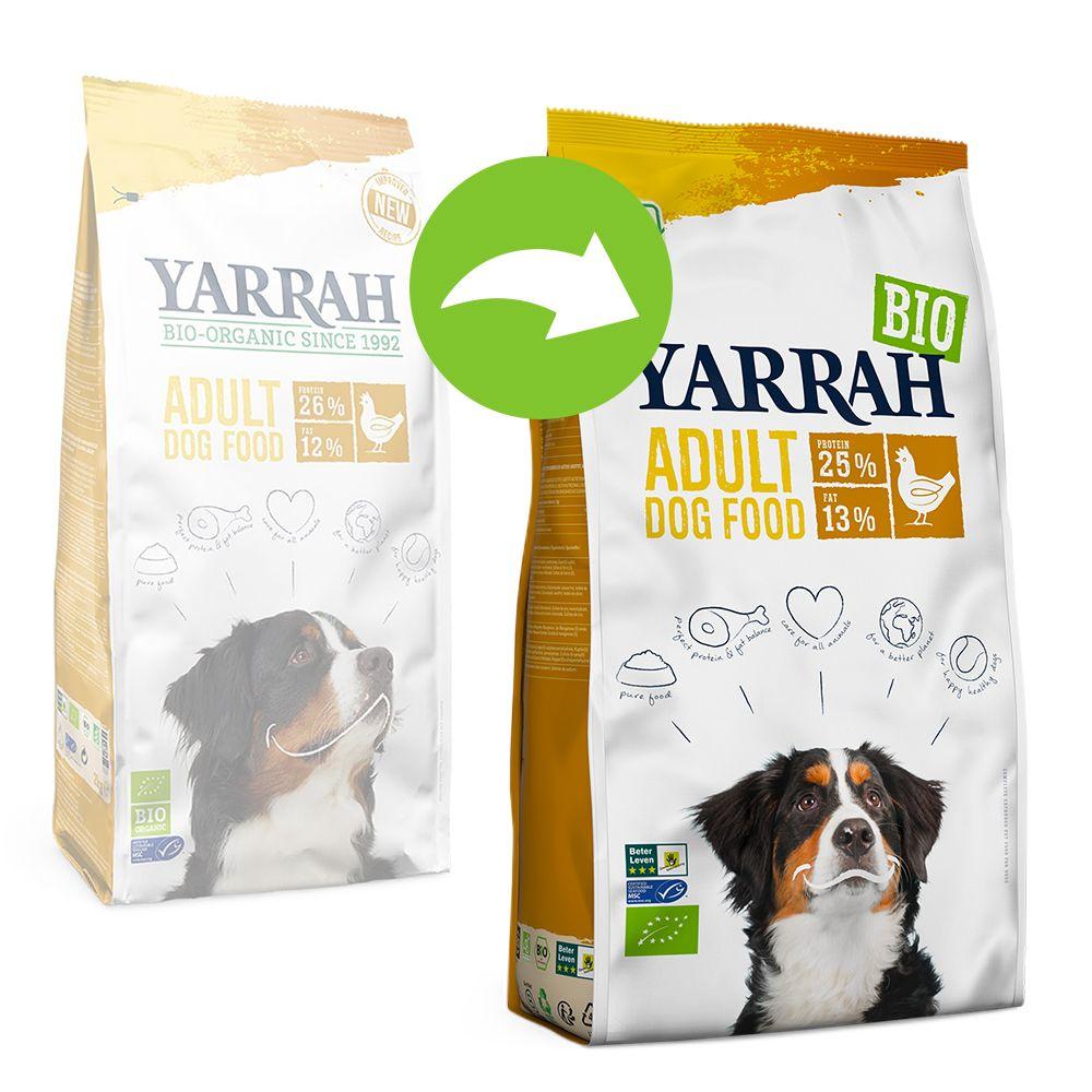 Yarrah Organic Adult med ekologisk kyckling - Ekonomipack: 2 x 15 kg