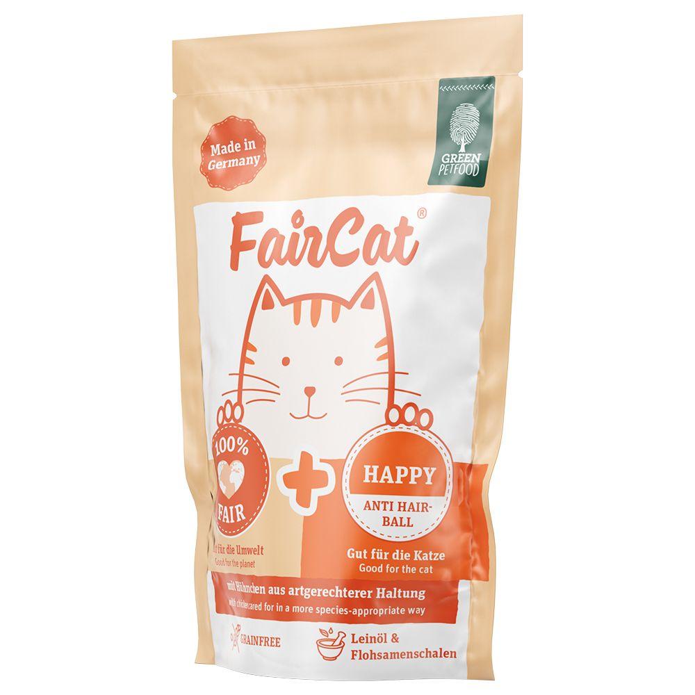 FairCat Nassfutterbeutel 16 x 85 g - Happy