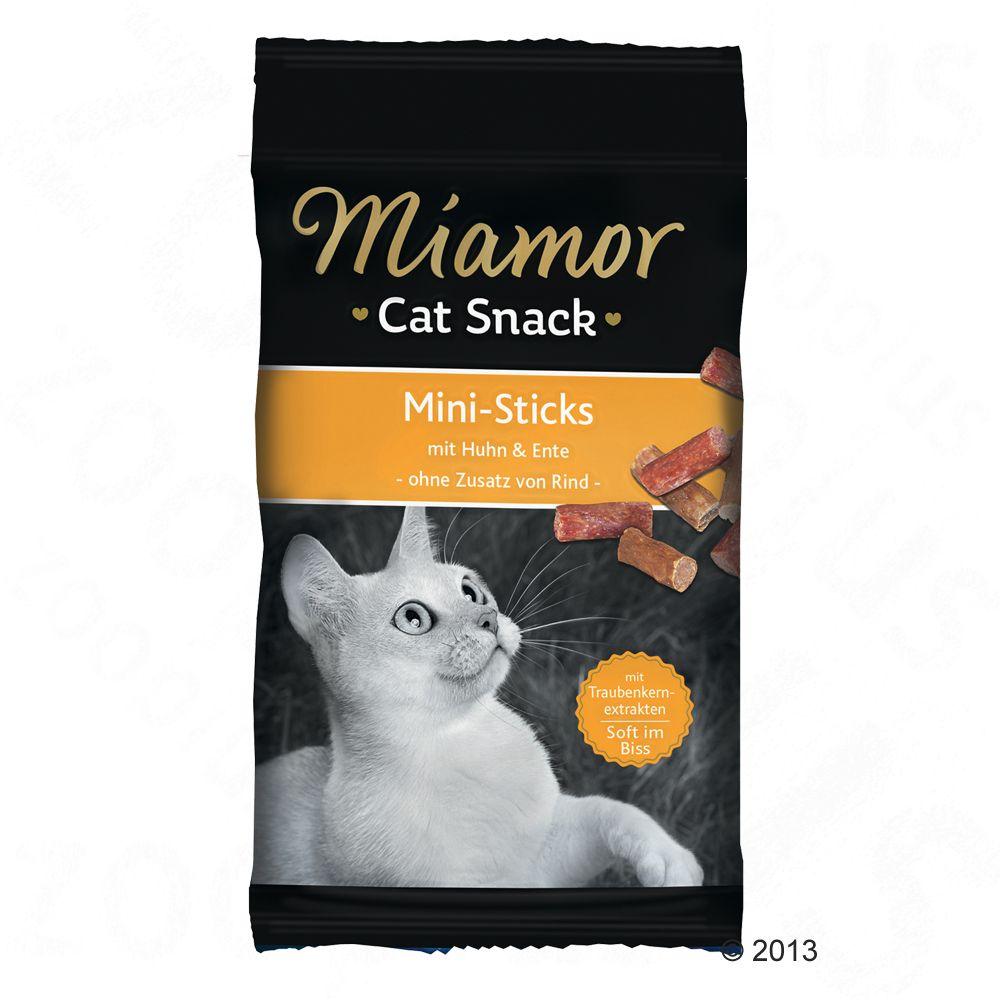 Miamor Cat Confect Sticks, pałeczki - Kurczak i kaczka, 50 g