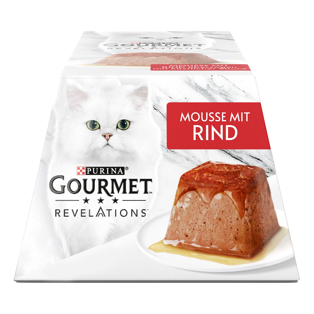 4 x 57 g Gourmet Revelations Mousse - Kyckling