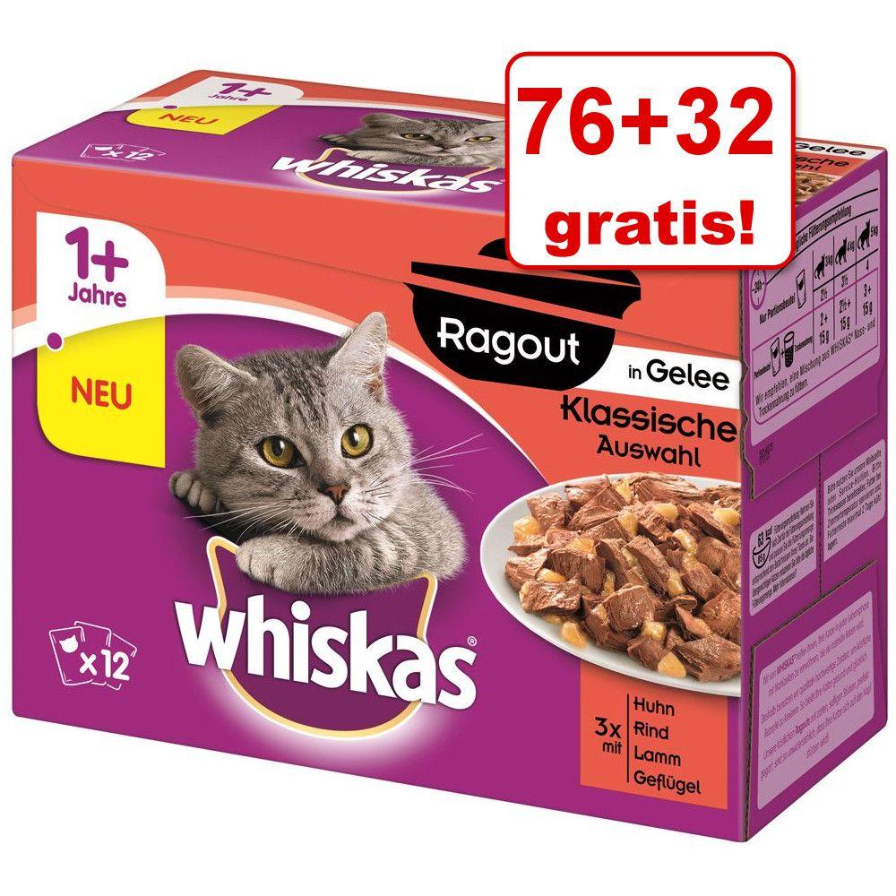 76 + 32 gratis! Whiskas R
