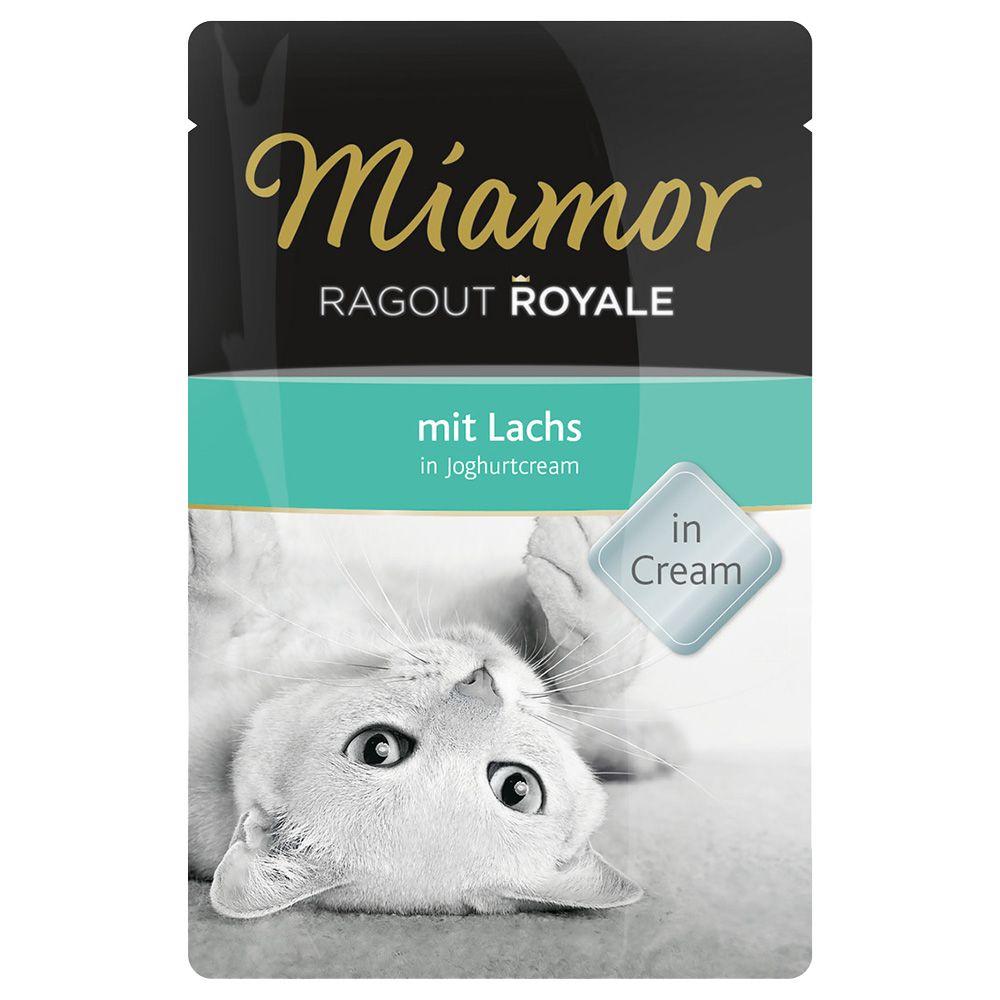 Miamor Ragout Royale in Cream 22 x 100g - Lachs...