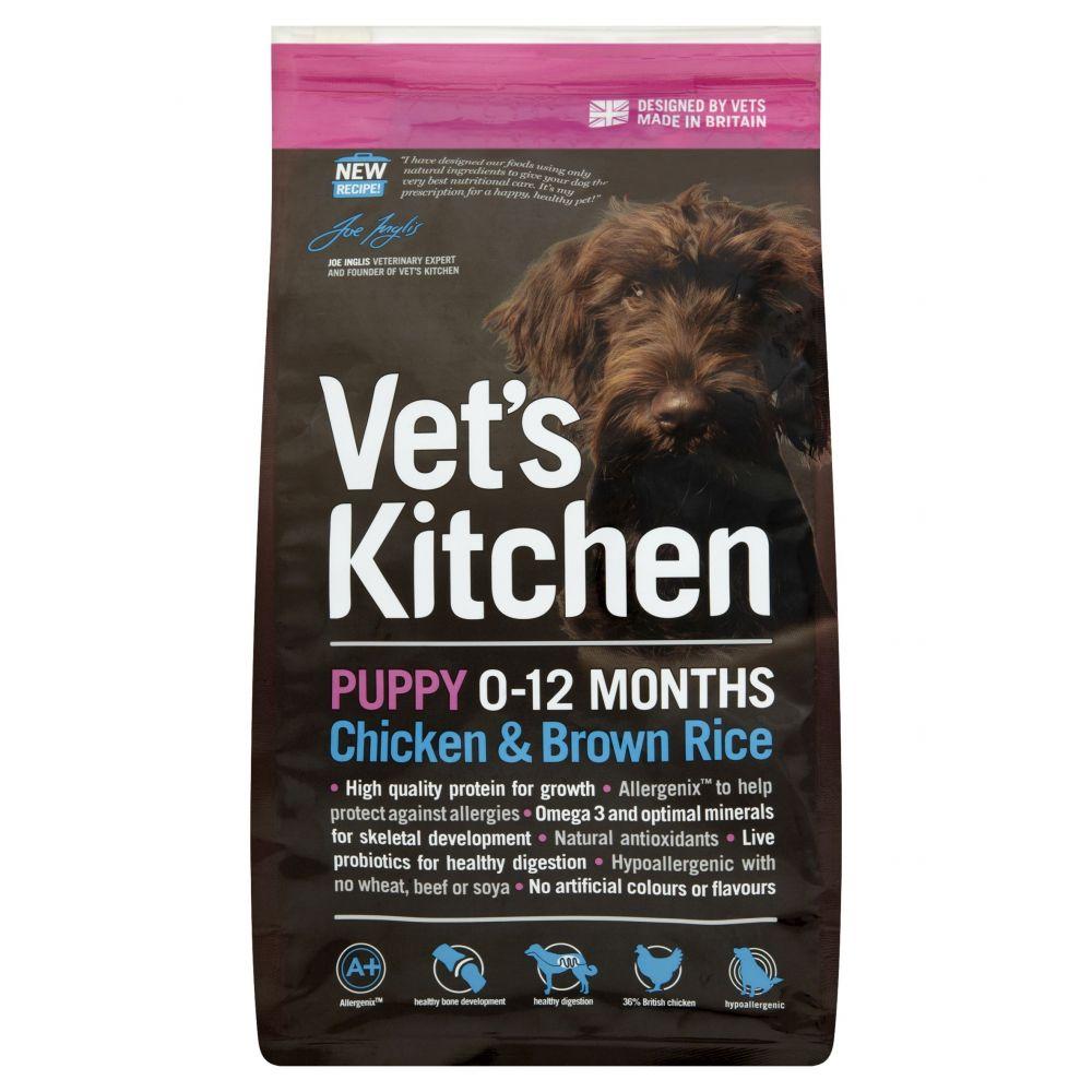 Vet's Kitchen Puppy Chicken & Brown Rice Dry Dog Food