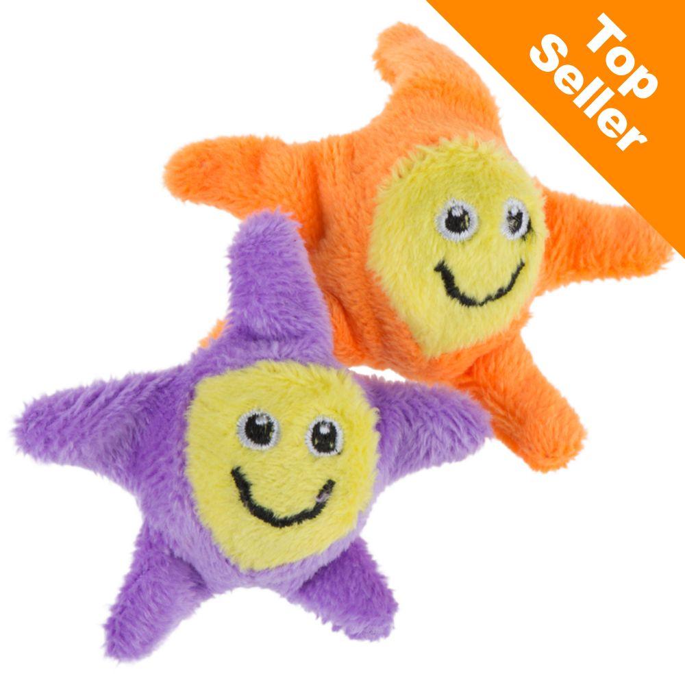 Jumping Stars kattleksak - 2 st