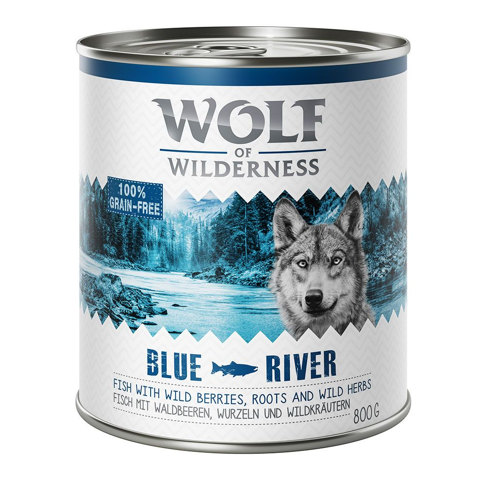 Adult Duck Wolf of Wilderness Wet Dog Food