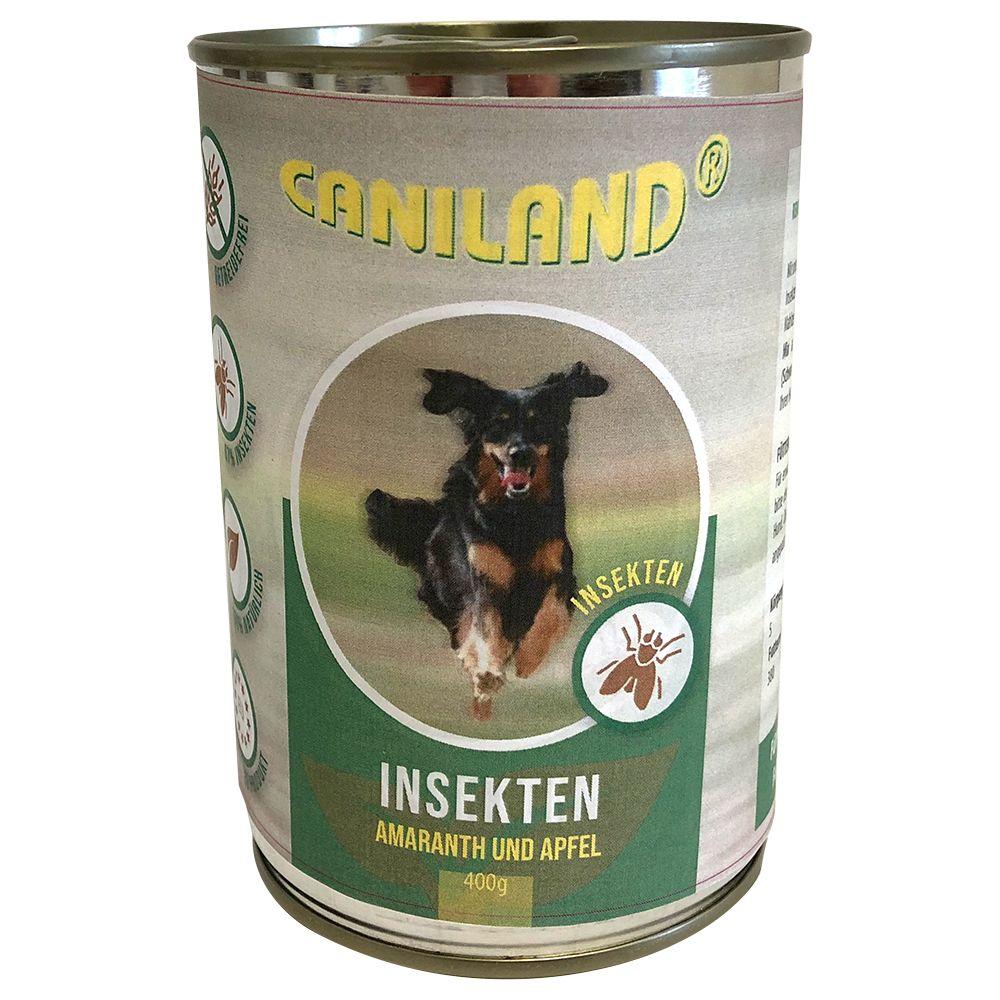 Image of Caniland Insekten 1 x 400 g Alimento umido per cani - Patate della landa e Pastinaca
