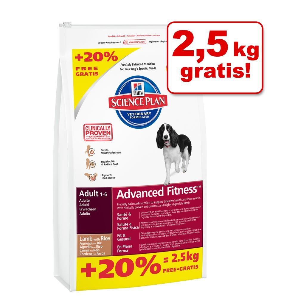 12 + 2,5 kg gratis! Karma dla psa Hill´s Adult, 14,5 kg - Adult Large Breed, kurczak