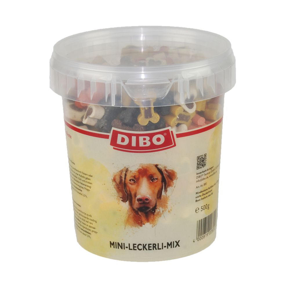 Image of Dibo Snack mix - semi umido - Set %: 3 x 500 g