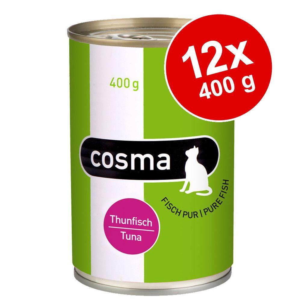 Ekonomipack: Cosma Original i gelé 12 x 400 g - Kyckling