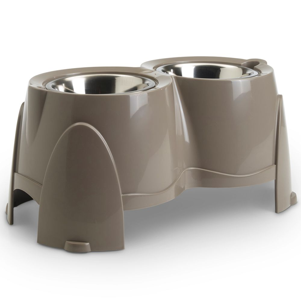 Savic Ergo Feeder Doggy Bar - 2 Bowls x 0.85L