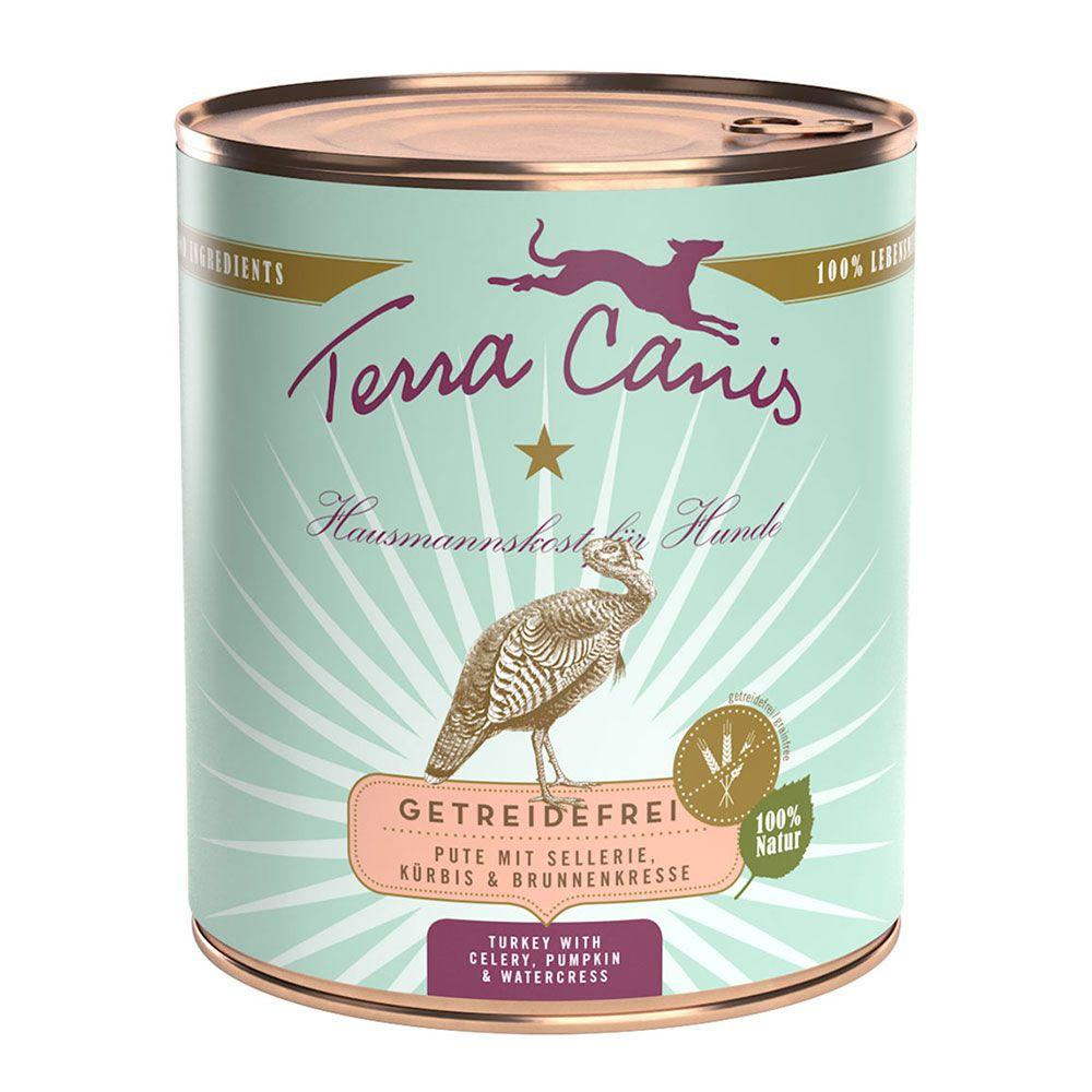 Terra Canis Getreidefrei 6 x 800 g - Ente mit Kürbis