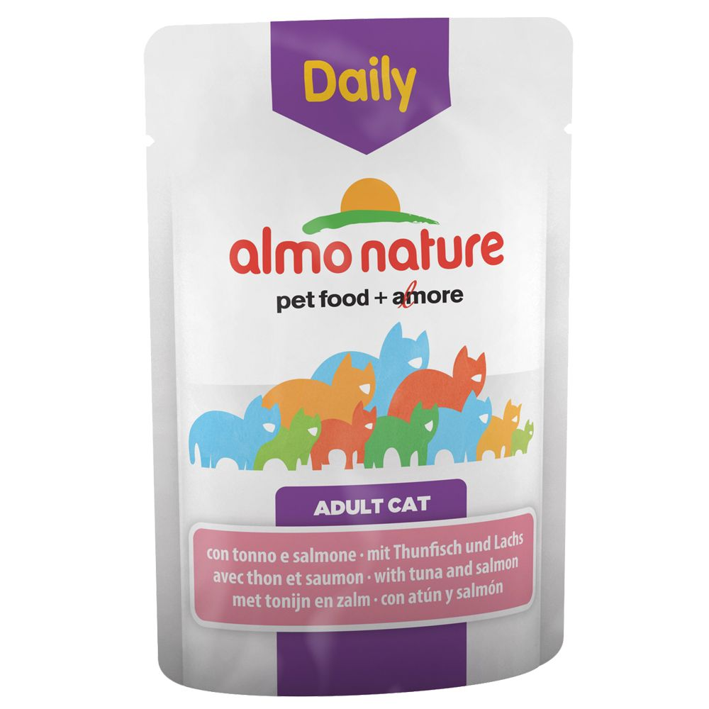 Image of Almo Nature Daily Menu 6 x 70 g - Huhn & Lachs
