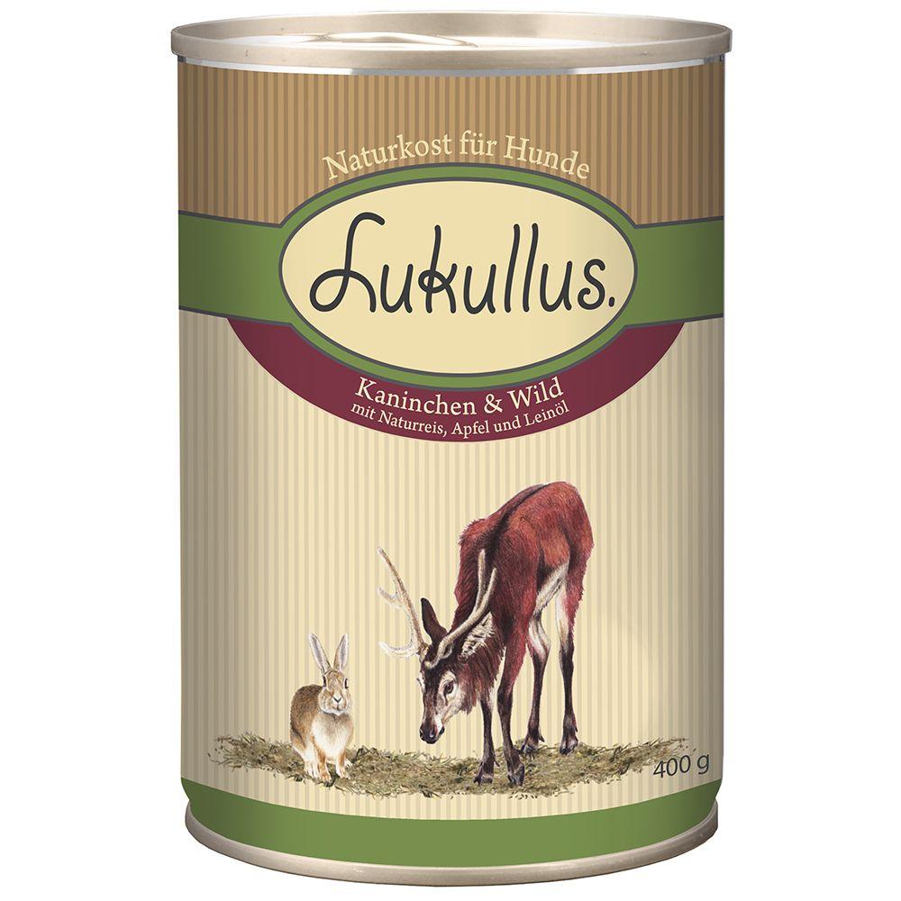 Lukullus Saver Pack 12 x 400g - Lamb & Poultry