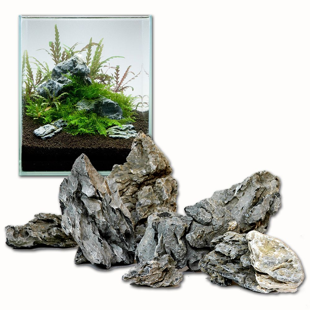Foto Mini-paesaggio in pietra Seiryu - Set 60 cm, 9 pz AquaDeco Set pietra naturale