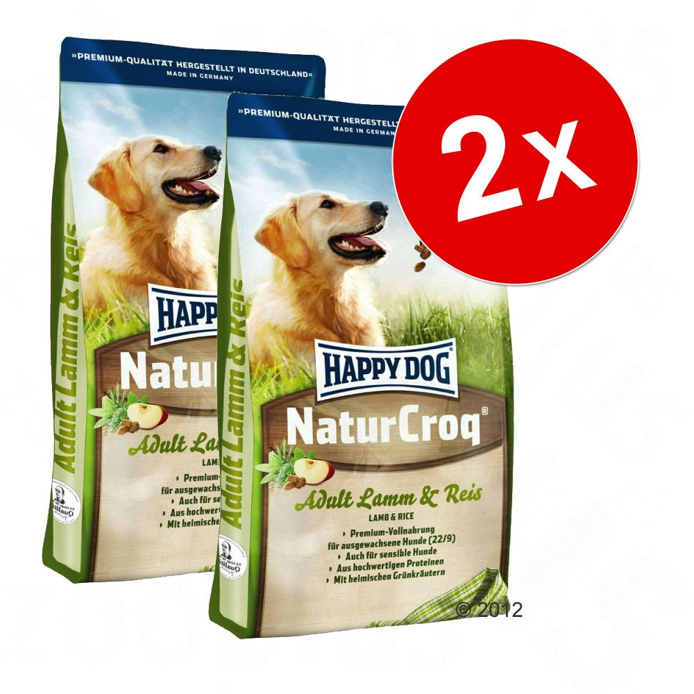 Chien Croquettes Happy Dog Natur Lots économiques