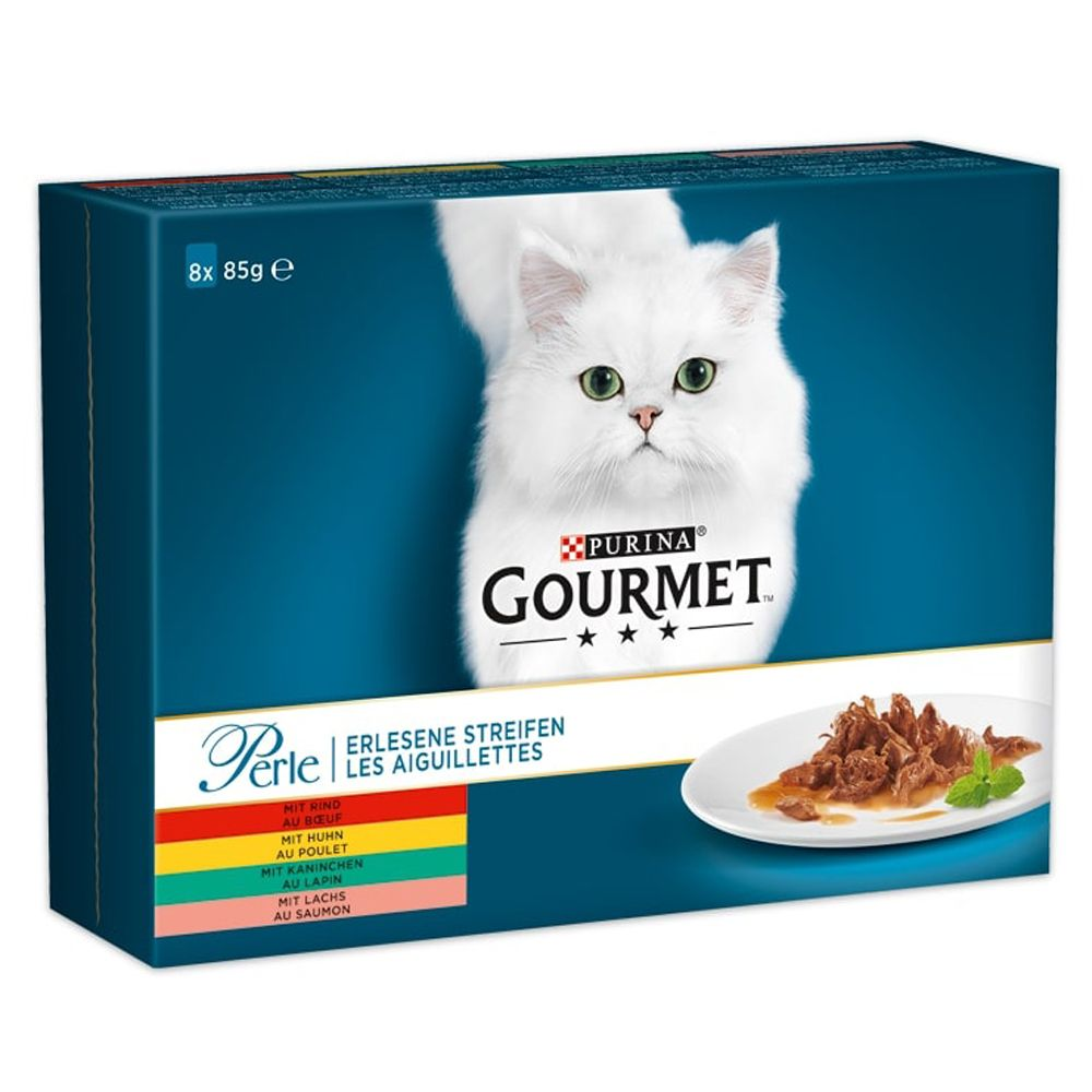 Delicate Fillets Mixed Trial Pack Gourment Perle Wet Cat Food