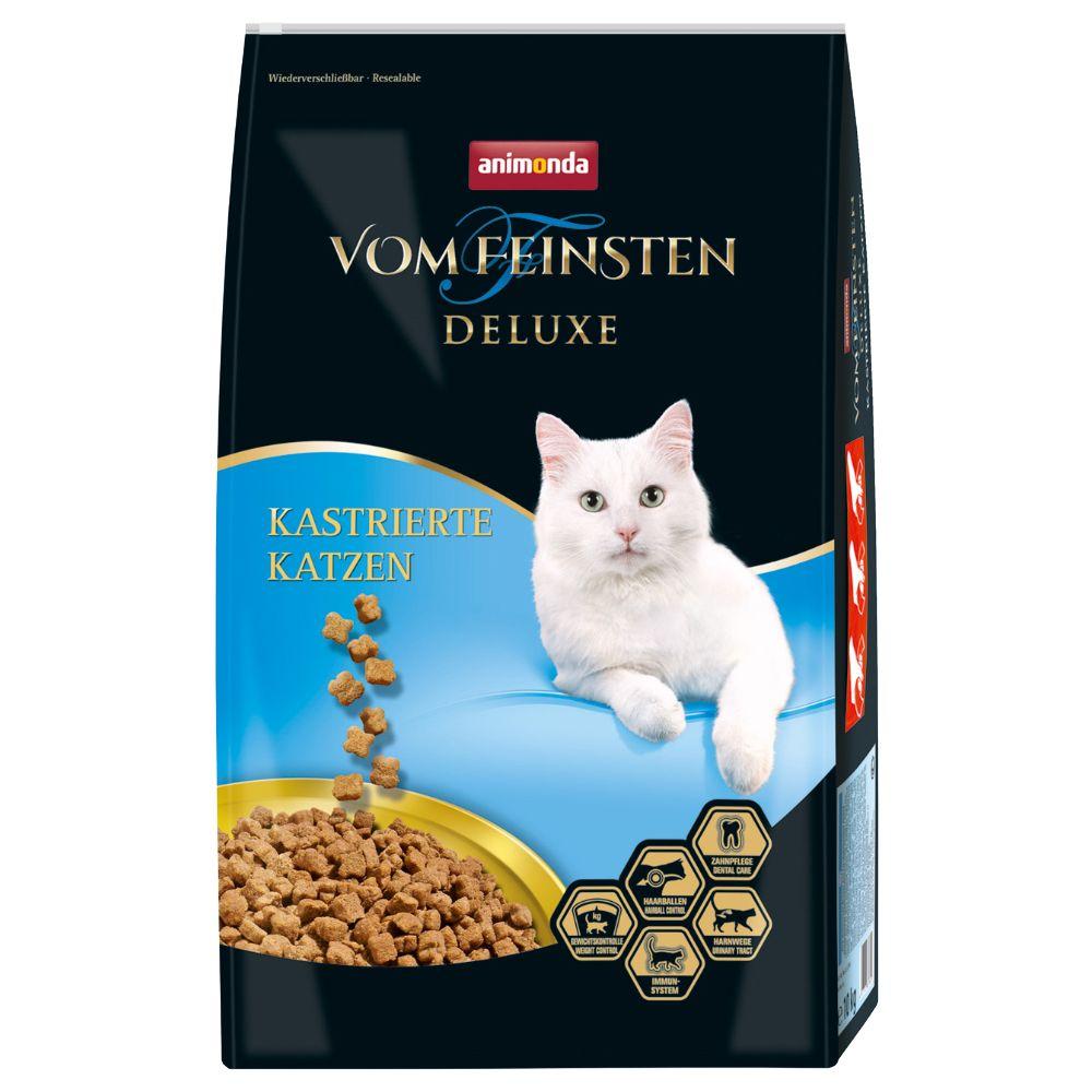10kg chat castré Animonda vom Feisten Deluxe - Croquettes pour chat