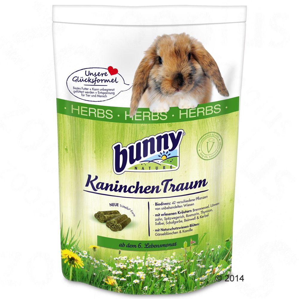 Image of Bunny KaninchenTraum HERBS - 2 x 4 kg