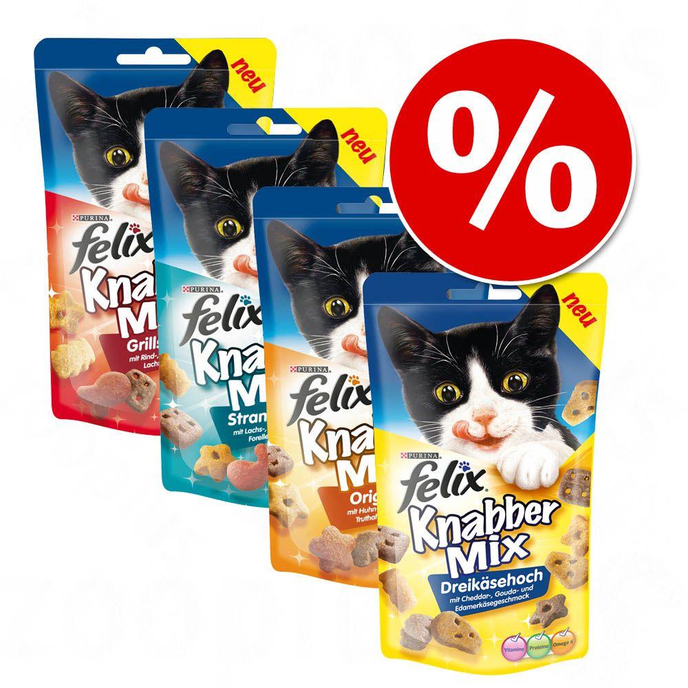 Pakiet mieszany Felix Party Mix, 4 smaki - 12 x 60 g