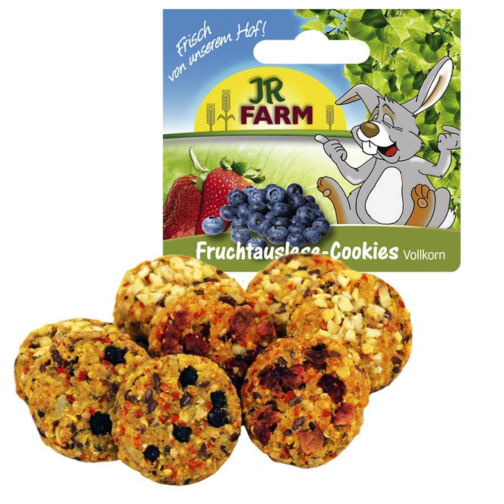 JR Farm Owocowo-warzywne pełnoziarniste ciasteczka - 8 szt