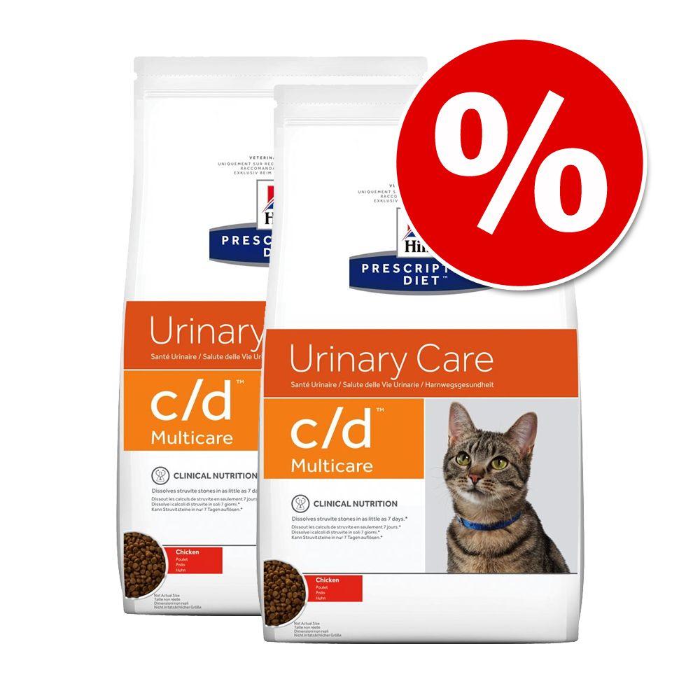 Ekonomipack: Hill's Prescription Diet Feline – Feline y/d (2 x 5 kg)
