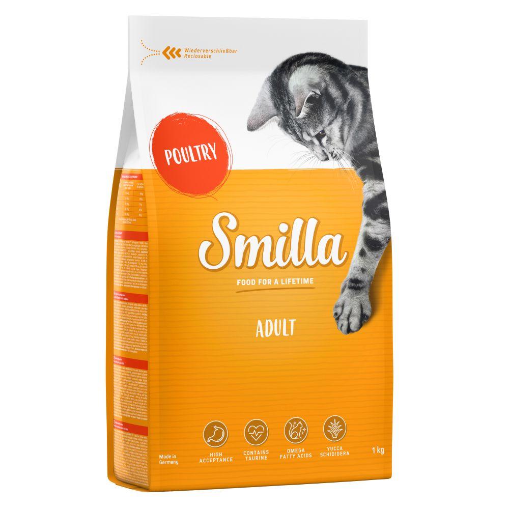 1kg Adult volaille Smilla - Croquettes pour Chat