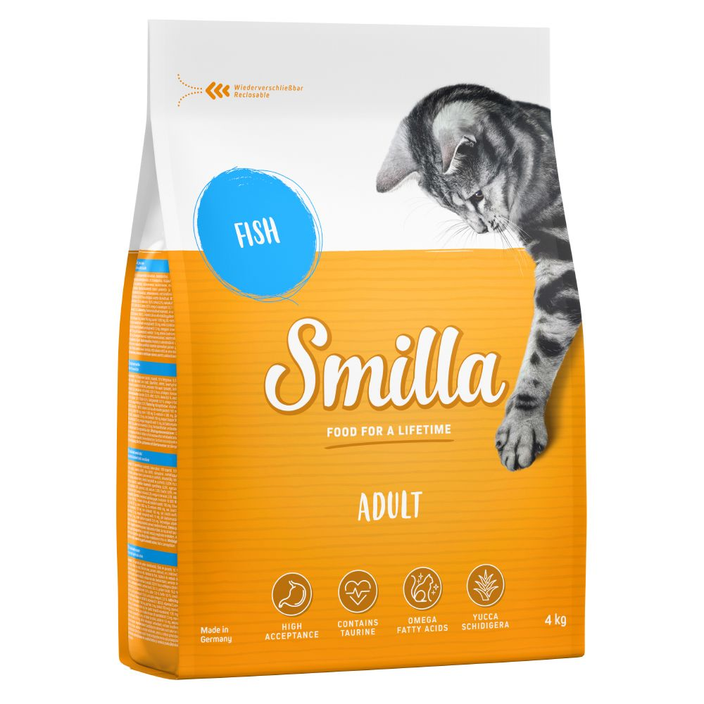 4kg Smilla Dry Cat Food - Fish
