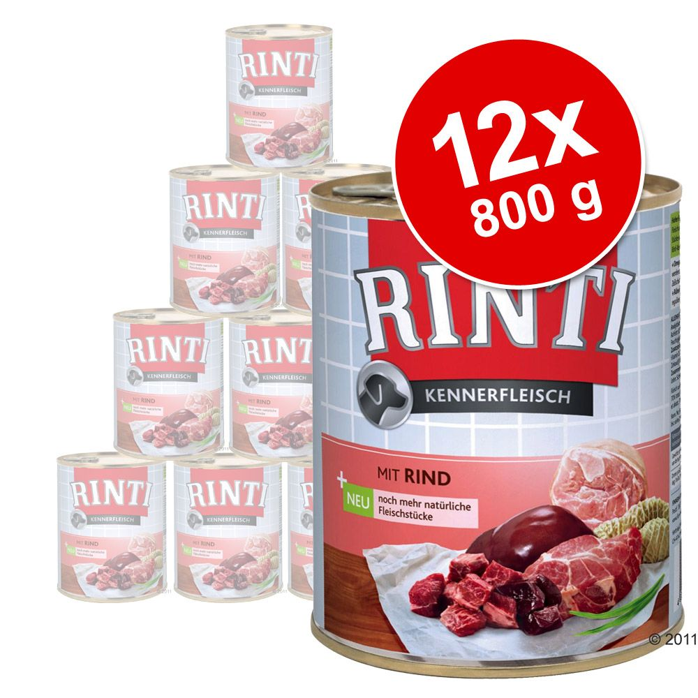 Image of        Rinti Puro 12 x 800 g - Manzo (Originale)