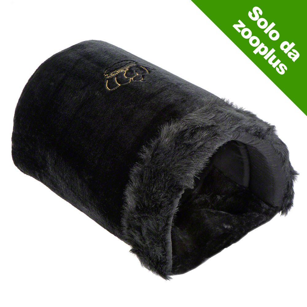 Image of Sacco a pelo Royal Pet Black XXL - L50 x P35 x H28 cm