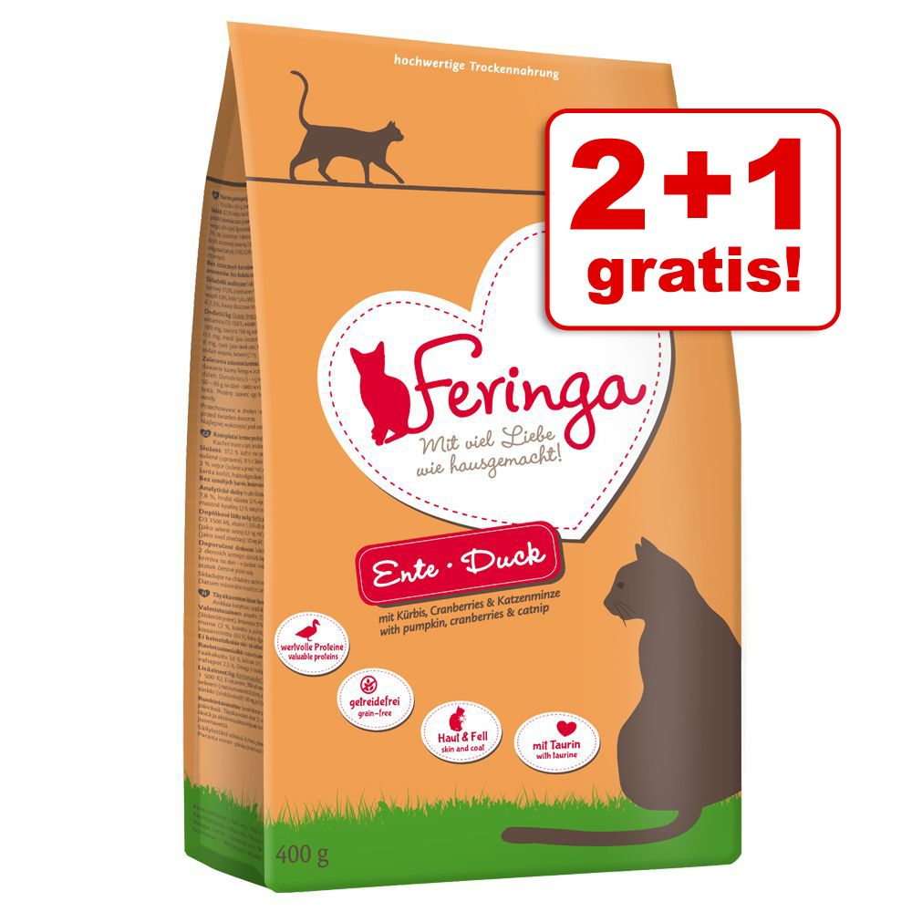 Passa på! 400 g Feringa torrfoder på köpet! - Kitten Fjäderfä