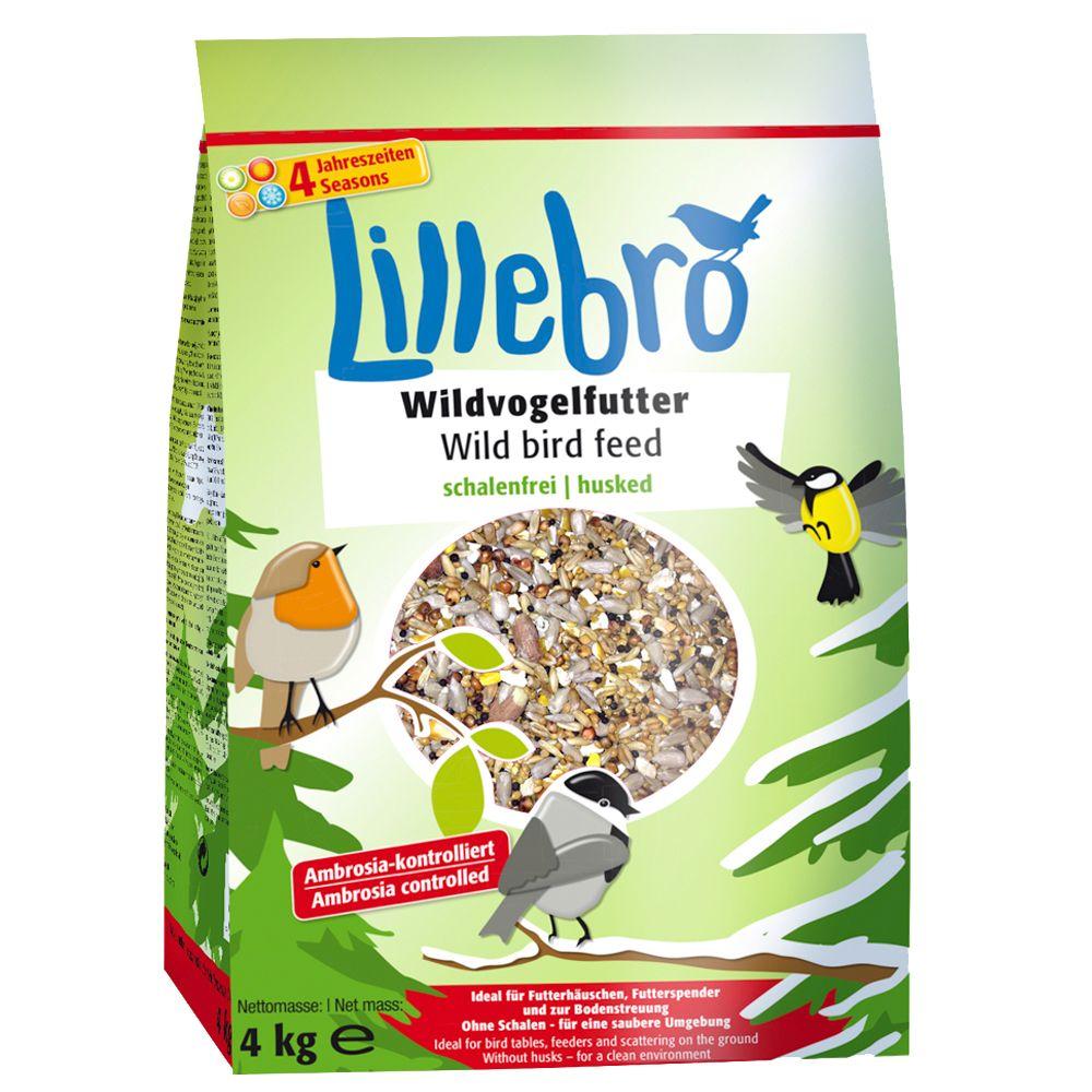 Lillebro Husk-Free Wild Bird Food - Economy Pack: 3 x 4kg