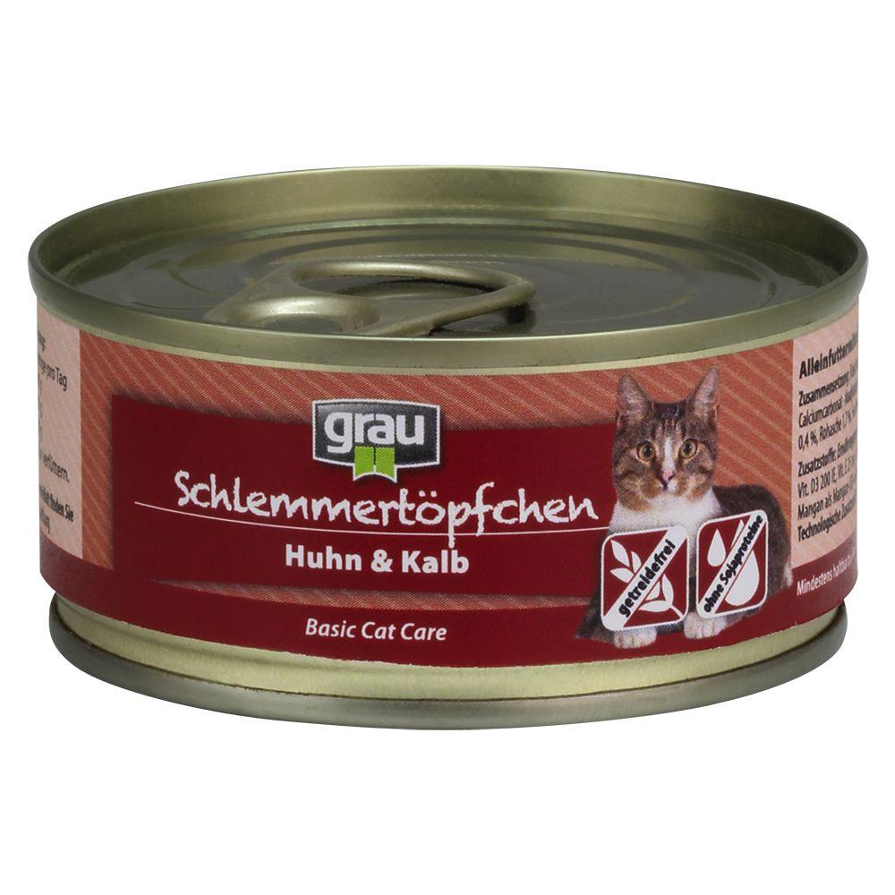 Grau Schlemmertöpfchen getreidefrei 6 x 100 g -...