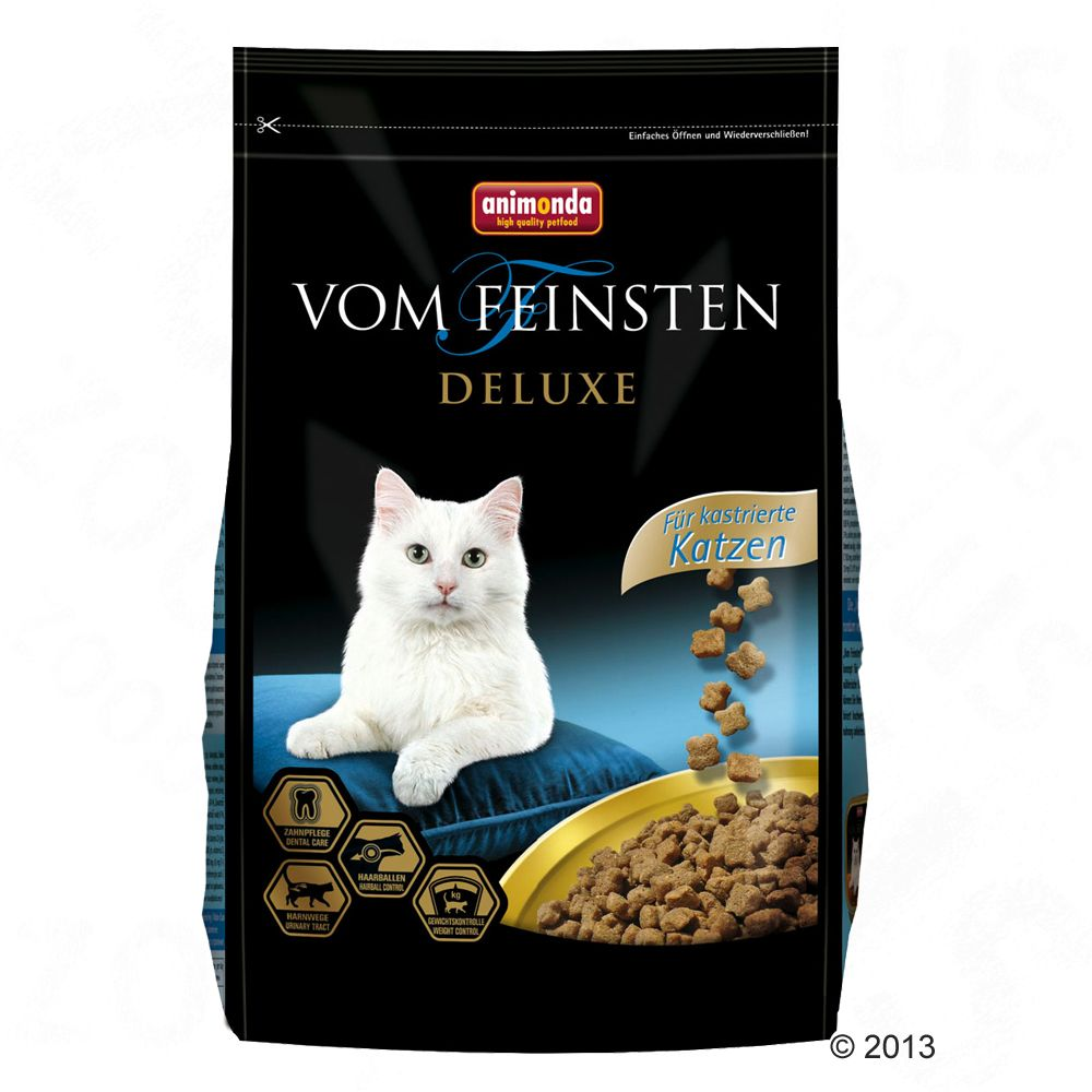 Animonda vom Feinsten Deluxe Dry Cat Food Economy Packs 2 x 10kg - Kitten
