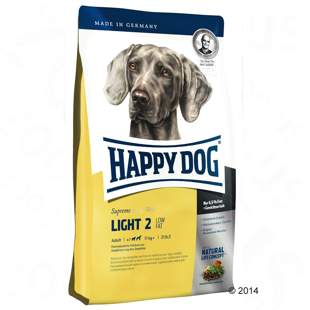 Happy Dog Supreme Fit & Well Light 2 - Low Fat - 12,5 kg