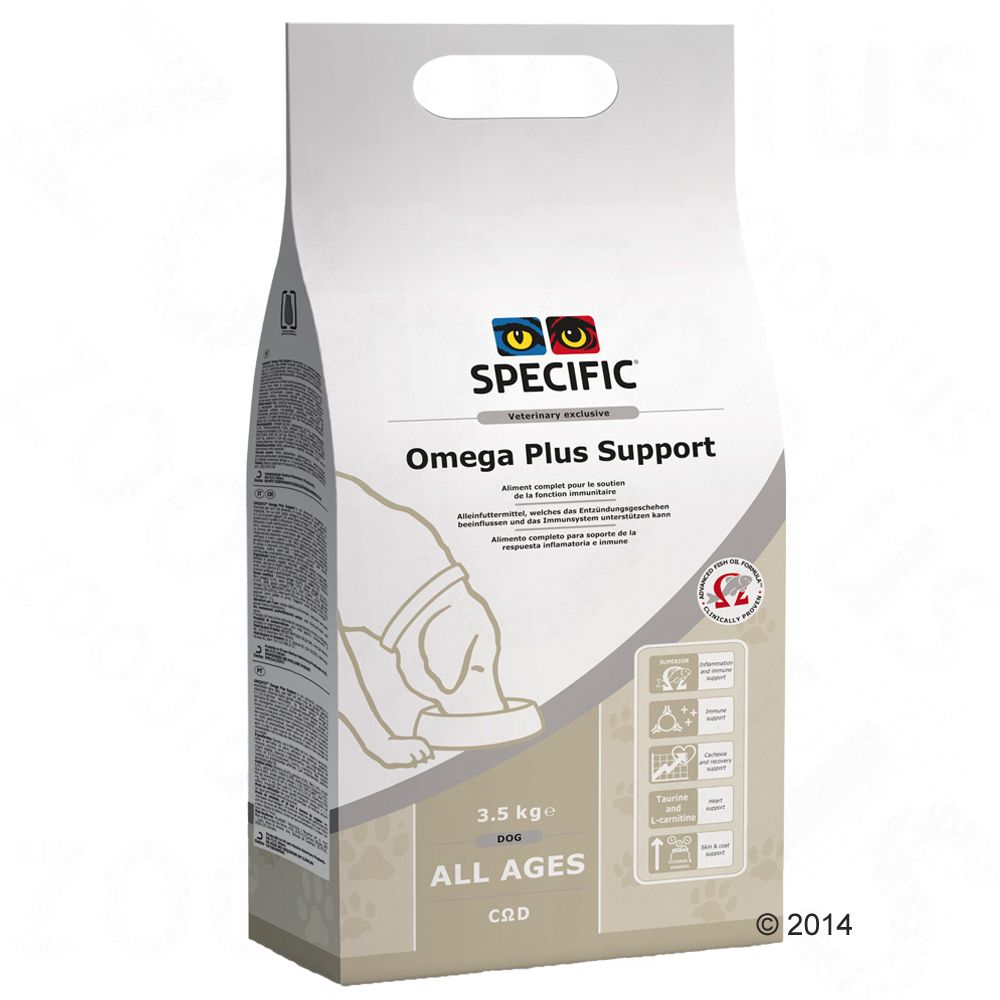 Specific Dog CΩD - Omega Plus Support pour chien - 2 x 7,5 kg