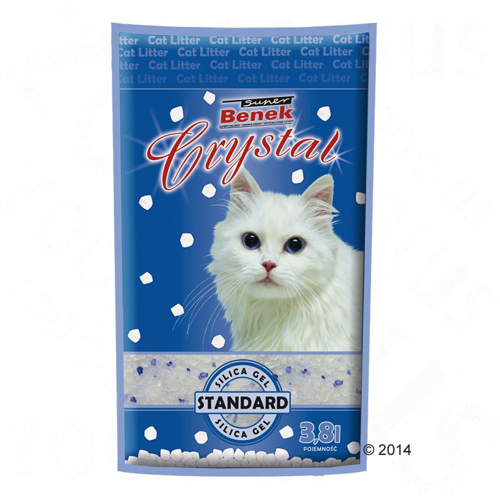 Super Benek Crystal Cat Litter - 11.4 litres