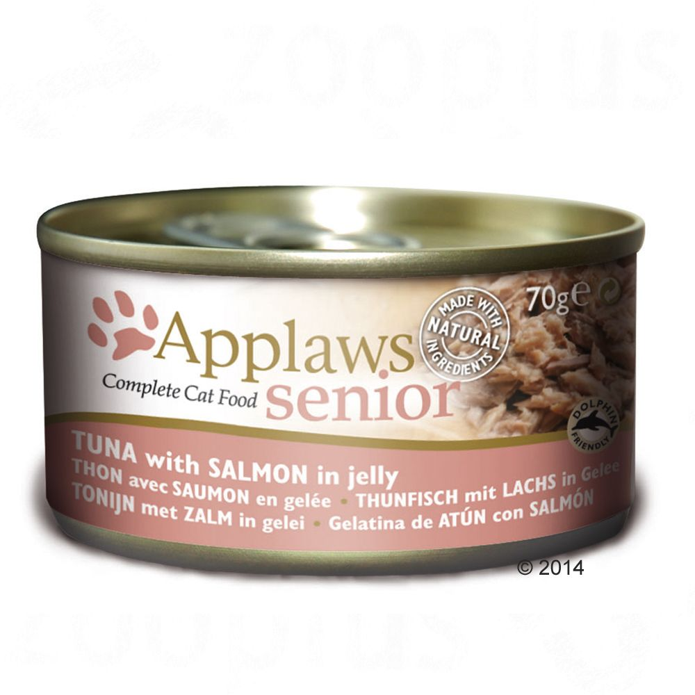 Applaws Senior Cat Food 70g - Senior Mixed Pack 24 x 70g